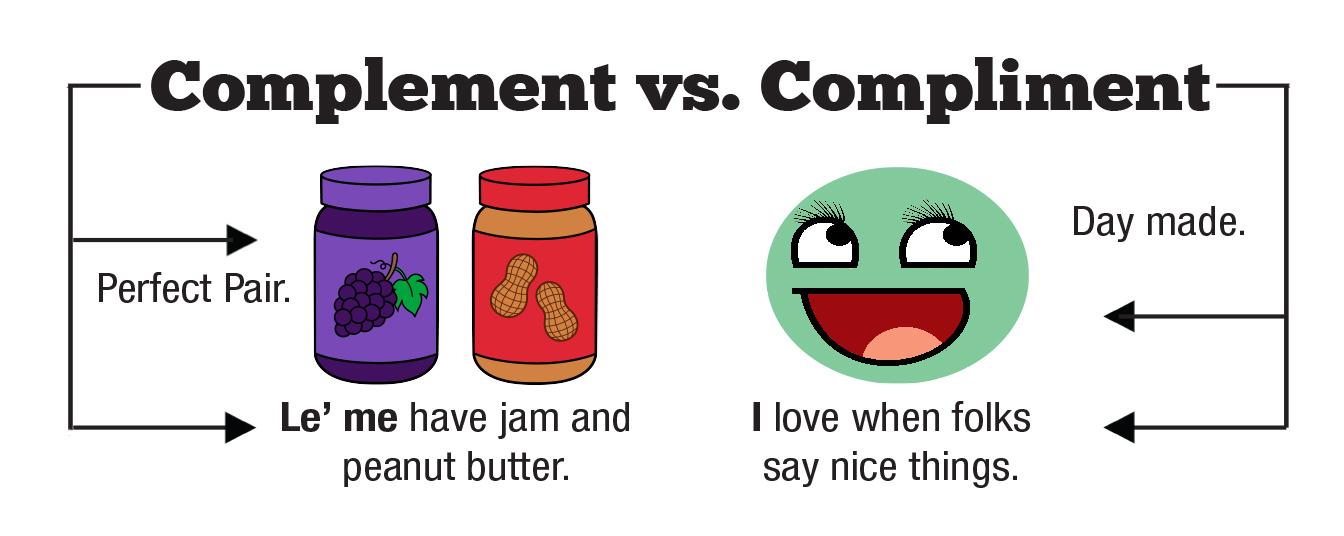 Комплемент или комплимент