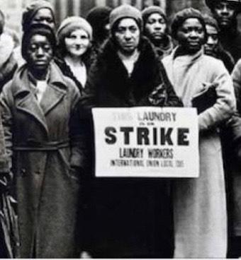 washerwoman strike